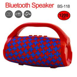 Wholesale Multi Function Speakers Australia - Mini Bluetooth speaker portable wireless speaker multi function Bluetooth Stereo bass effect outdoor speakers