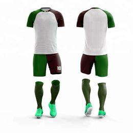 74e33058d18 Custom Asian Size College soccer jerseys men custom football jerseys soccer uniforms  youth adult football jersey set