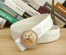 Wholesale The best selling new classic brand belt medusa leather ceinture commercial fashion casual belt for men and women designers jean belt