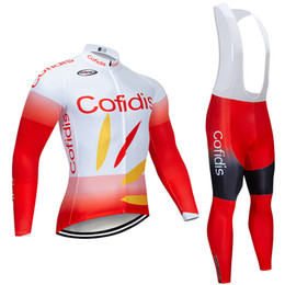 ciclismo jacket Australia - Winter 2020 TEAM cofidis CYCLING JERSEY 20D bike pants set Ropa Ciclismo Thick thermal fleece pro BICYCLING JACKET Maillot wear