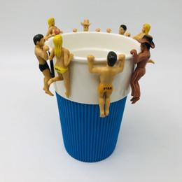 PUTITTO The Edge of Cup Series Nobi Nobita Mini PVC Figuras Juguetes Taza Decoración Muñecas en venta
