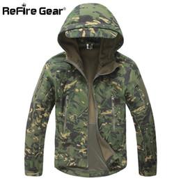 $enCountryForm.capitalKeyWord Australia - Lurker Shark Soft Shell Military Tactical Jacket Men Waterproof Warm Windbreaker Coat Camouflage Hooded Jacket Us Army Clothing T2190615