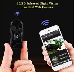 Brand Cameras Australia - Secret Mini Camera Wifi 720P HD Infrared Night Vision Wireless Camara Secret Cam Securtity Nanny Camara Brand IP Camcorder Mini