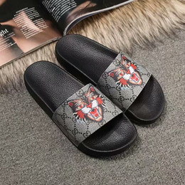 $enCountryForm.capitalKeyWord NZ - NEW Fashion slide sandals 2019 slippers for men women WITH ORIGINAL BOX Hot Designer unisex beach flip flops slipper best quality TOP