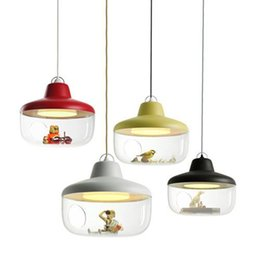 $enCountryForm.capitalKeyWord Australia - Modern Led Pendant Lamp Children room Pendant Lights Nordic Hanging Acrylic Shade Pendant Lamp E27 110V 240V