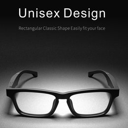 freer eyewear Australia - High End Smart Glasses Wireless Eyewear Bluetooth Eyeglasses Hands-Free Calling Music Audio Open Ear Anti-blue Light Lenses
