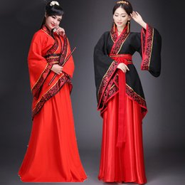 $enCountryForm.capitalKeyWord Australia - Woman Hanfu National Clothes Chinese Traditional Ancient Folk Dance Costumes Stage Dance Dress Lady Cosplay Hanfu Costume DL1000