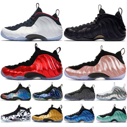 Roses foam online shopping - Cheap New Alternate Galaxy Olympic Penny Hardaway Sequoia Element Rose Mens Basketball Shoes foams one men sports sneakers designer