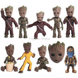 $enCountryForm.capitalKeyWord Australia - 10 styles Guardians of the Galaxy Action Figures cartoon KeyChain Groot Key ring Pendant kids toy with retail box C2337
