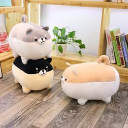 Valentine Pillows Gift Australia - 20170604 New Cute Shiba Inu Dog Plush Toy Stuffed Soft Animal Corgi Chai Pillow Christmas Gift Kawaii Valentine Present Free Shipping