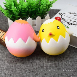 soft toys cuttings 2019 - 2017 New Arrival Squishy toys Super cut 4color Chick Soft Squeeze cellphone pendant Novelty Toys gift for children Decom