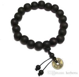 $enCountryForm.capitalKeyWord Australia - Wholesale-Buddhist Tibetan Decor Prayer beads Bracelet Bangle Wrist Ornament Wood Buddha Beads men Jewelry Religion Charm Buddhist Tibet