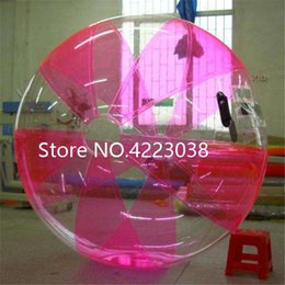 Inflatable Pool Water Walking Balls Australia - Free Shipping Dia 2m PVC Inflatable Water Walking Ball Wear-resistant Water Toys Dance Ball with Zipper for Swimming Pool Outdoor
