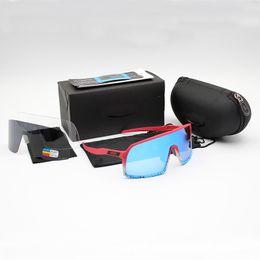Опт Оптово-велосипедные очки Sutro Мужская мода Поляризованные солнцезащитные очки TR90 Спорт на открытом воздухе Беговые очки 8 красочных, поляризованных, прозрачных