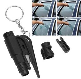 $enCountryForm.capitalKeyWord Australia - Wholesale-Car Styling Pocket Auto Emergency Escape Rescue Tool Glass Window Breaking Safety Hammer with Keychain Seat Belt Cutter