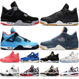 Boys gold sneakers online shopping - Boys Newest Bred s What The Cactus Jack Laser Wings Mens Basketball Shoes Denim Blue Tattoo Pale Citron Men Sports Designer Sneakers