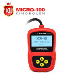$enCountryForm.capitalKeyWord Australia - MICRO-100 12V Car Battery Tester 1100CCA Automotive Battery Analyzer Multi-Languages BAD Cell Test Battery Than BT100 Pro