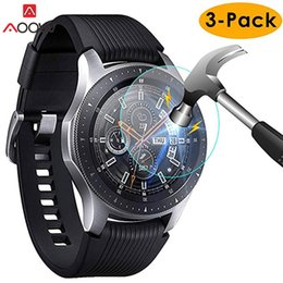 $enCountryForm.capitalKeyWord Australia - 3pcs For Samsung Galaxy Watch 42mm 46mm Tempered Glass Screen Protector Protective Film Guard Anti Explosion Anti-shatter