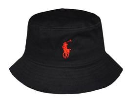 a350e02e2d922 Latest Design 100%Cotton Polo Bucket Hats For Men Women Foldable Cap  Fishing Hunting Fisherman Beach Sun Visor Sale Folding Man Bowler hat