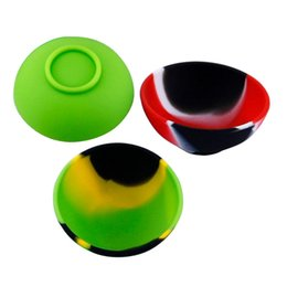 Oil Slick Containers Australia - Wholesale 8g Bowl Shape Wax Jar Containers Non Stick Wax Dabs Oil Container Silicone Pinch Bowl For Slick Butane Oil Concentrate 100X