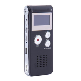 $enCountryForm.capitalKeyWord UK - Mini Digital Audio Voice Recorder Rechargeable Dictaphone Telephone MP3 MP3 WMA Player 4 GB   8 GB   16