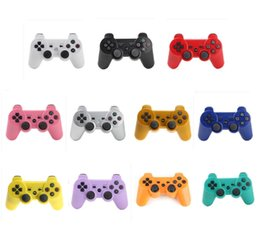 Joystick Controllers Australia - NEW PS3 Wireless controllers Bluetooth Game Controllers Double Shock for For playstation 3 PS3 Joysticks gamepad with Packaging Boxes DHL