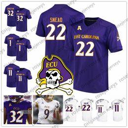 East jErsEy online shopping - ECU East Carolina Pirates Deondre Farrier Blake Proehl Tyler Snead Trace Christian Purple White Black Men Youth Kid Jersey