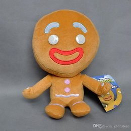 "man doll video Australia - Hot New 9.5"" 24CM Gingerbread Man Plush Doll Anime Collectible Soft Dolls Best Gifts Soft Toys"