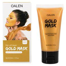 Super Nose Australia - Gold Mask Super Illuminating Glitter Collagen Facial Peel-Off Mask 60ml Moisturizing Blackhead Remover Pore Strip Peeling Nose Mask for Skin