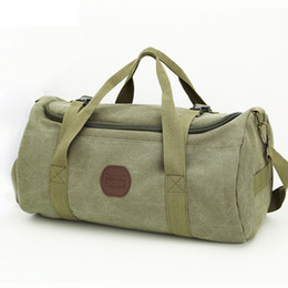 c11e192d920a Large Capacity Men Travel Bags Vintage Canvas Women Weekend Traveling  Duffle Tote Crossbody Bags Casual Male Trip Shoulder Bags