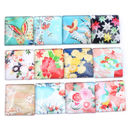 $enCountryForm.capitalKeyWord Australia - mix flower butterfly photo glass square cabochon 25mm 20mm 30mm 12mm diy flat back accessories for pendant necklace ring jewelry making
