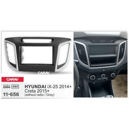 Radio fascias online shopping - CARAV11 Car Radio Fascia Panel for iX Creta without Ra Stereo Fascia Dash CD Trim Installation Kit