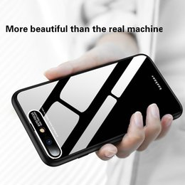 Wholesale 2019 new PC hardware eye for Huawei Mate Pro X acrylic phone case P30 Pro plexiglass hard shell soft side mirror phone case