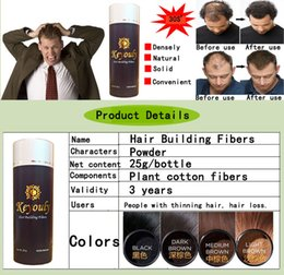 wholesale hair care products NZ - keyouly hair fiber 25g black hair build fiber beauty salon hair care products styling powder drop shipping available