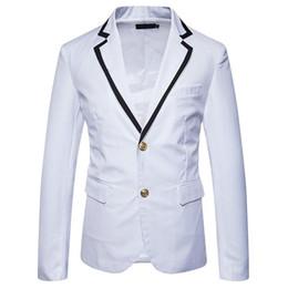 $enCountryForm.capitalKeyWord UK - Amazing 2019 Alien School Formal Blazer Men Slim Fit Suit Jacket For Men White Men's Blazer Jacket Spring Xadrez Masculino EU US Size