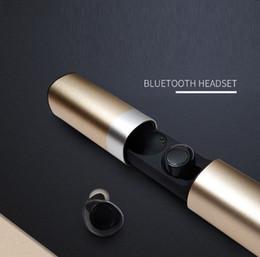 $enCountryForm.capitalKeyWord Australia - Wireless Waterproof Bluetooth 5.0 Headset S2 Mini TWS Magnetic Headphone With Mic Charging Box Earbuds for Android Samsung Sony Car Earphone