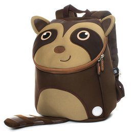 Cute Waterproof Bag Australia - Cocomilo Brand Kids New Waterproof Cute Animal Backpack Kindergarten School Bags Girls 3d Cartoon Mochila For 2-5 Years Old Boys