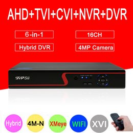 $enCountryForm.capitalKeyWord Australia - 4mp CCTV Camera Red Panel Hi3521A XMeye 4M-N 16CH 16 Channel 6 in 1 WIFI Coaxial Hybrid Onvif XVI NVR TVI AHD DVR Free Shipping