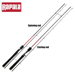 $enCountryForm.capitalKeyWord Australia - Rapala Brand Lure Land Baitcasting Lure Fishing Rod 1.98M 2.13M 2 Segments M ML Power Carbon Spinning Fishing Stick