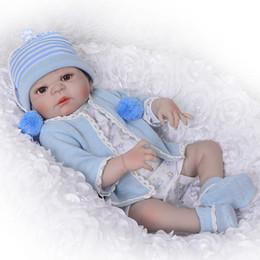 9f450e59242 Silicone Full Body Reborn Dolls 23   Realistic Handmade Baby Dolls Boy  Fashion Kids Toy Waterproof Boneca Model Birthday Gifts