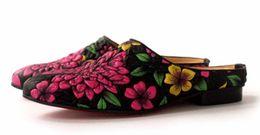 $enCountryForm.capitalKeyWord Canada - new 3D printing floral Street style lazy sandals closed toe men flat slippers fashion men's mules big size EU45
