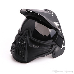 transformer masks Australia - Tactical Breathable Full Face Mask Transformers Leader Mask Lens Vision Protective for Hunting CS Wargame Paintball Mask