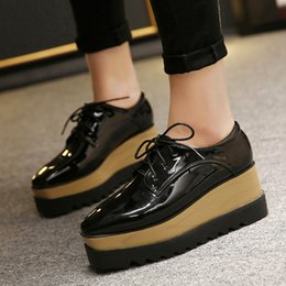$enCountryForm.capitalKeyWord Australia - Beast2019 Chalaza Square Autumn Deep Slope With Muffin Sole Single Shoe Woman 5678