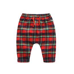 $enCountryForm.capitalKeyWord UK - spring baby boys 0-2 years plaid cotton pants newborn girls 3-24 month elastic waist harem pants infant casual trousers