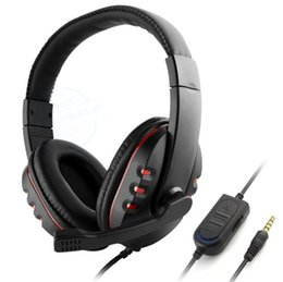 Game headset tooling gaming headsets Headphone 3.5mm Serious Serious bass Microfono stereo per PC XBOX ONE PS4 PS3 Cellulare Computer gratuito DHL