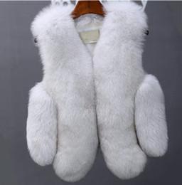 $enCountryForm.capitalKeyWord Australia - 2019 vetement Winter Women's Coat Faux Fur Vest Patchwork Fur Coat Slim Plus Size Preppy V-Neck Short Vest Furry AW170