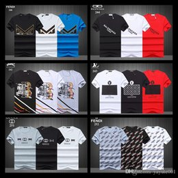 $enCountryForm.capitalKeyWord NZ - 18ss Luxury T Shirt Men Fast compression Breathable Mens Short Sleeve Fitness Mens t-shirt Gyms Tee Tight Casual Top