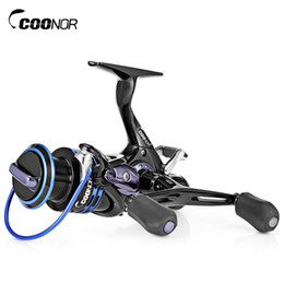 T Bait Australia - COONOR 9+1BB Stainless Steel Fishing Reel Metal Spool Fishing Reel With Foldable Double T-Shape Handles For All Fishing Rods Free Ship VB