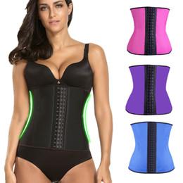 Wholesale Women Slimming Body Belt Waist Trainer Body Shapers Corset Waistband Trimmer Fitness Workout Slimming Corset Wrap Shapewear
