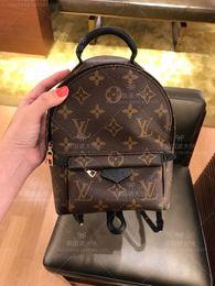 $enCountryForm.capitalKeyWord Australia - High Quality Best Price ! Original Design Genuine leather mini women bag children backpack luxury famous fashion Springs Palm 41560 41561